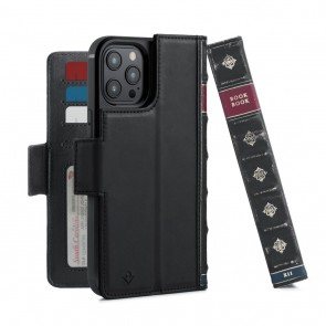 Twelve South BookBook iPhone 12 Pro Max Case Wallet Zwart