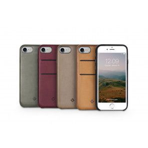 Twelve South Relaxed Leather Case Pockets iPhone 8/7 Marsala Group