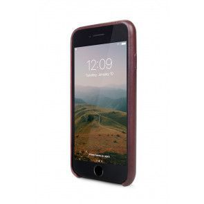 Twelve South Relaxed Leather Case iPhone 8/7 Marsala Voorkant