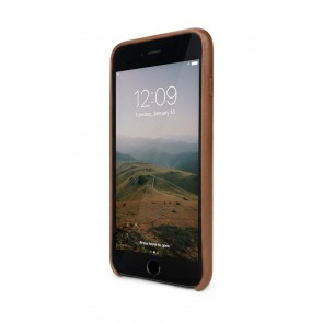 Twelve South Relaxed Leather Case iPhone 8 Plus / 7 Plus Cognac Voorkant