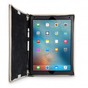 Twelve South BookBook iPad Pro 12.9 V2 Case Vintage Brown open