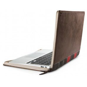Twelve South BookBook MacBook Air Vintage Case 13 inch zijkant