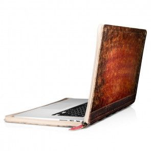 Laptop sleeve Twelve South BookBook Rutledge MacBook Pro Retina 15 inch Open