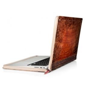 Laptop sleeve Twelve South BookBook Rutledge MacBook Air/Pro 13 inch Zijkant Open