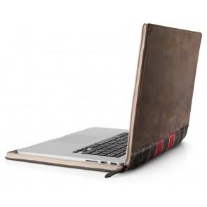 Twelve South BookBook MacBook Pro Retina Vintage Leather Case 15 inch Open Zijkant