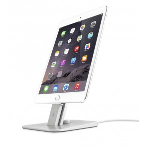 Twelve South HiRise Deluxe Silver for iPhone and iPad met iPad